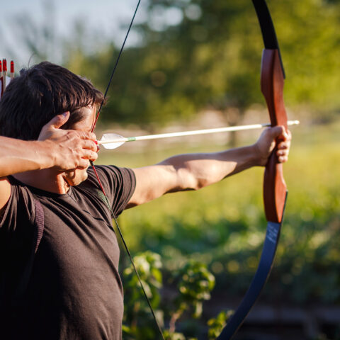 The benefits of a heavy (draw weight) bow